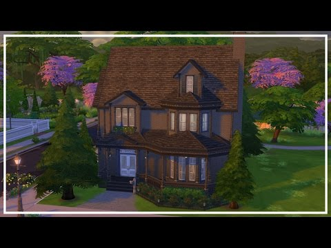 HAUNTED MANSION // The Sims 4: Speed Build
