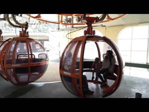 חי פֹּה: רכבל חיפה סיור וידאו ברכבל של חיפה - מבת גלים לסטלה מריס