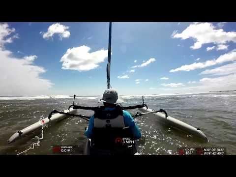 Hobie Tandem Island - Surf Launches - Atlantic Ocean