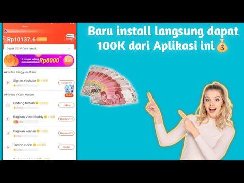 Begini Cara Mendapatkan Uang Dari Aplikasi || Pertama Install Langsung Dapat Bonus