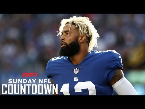 Randy Moss: Odell Beckham Jr. interview will 'blow up' if Giants lose to Panthers | NFL Countdown
