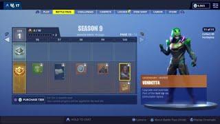 Season 9 Battle Pass Showcase - Fortnite Battle Royale