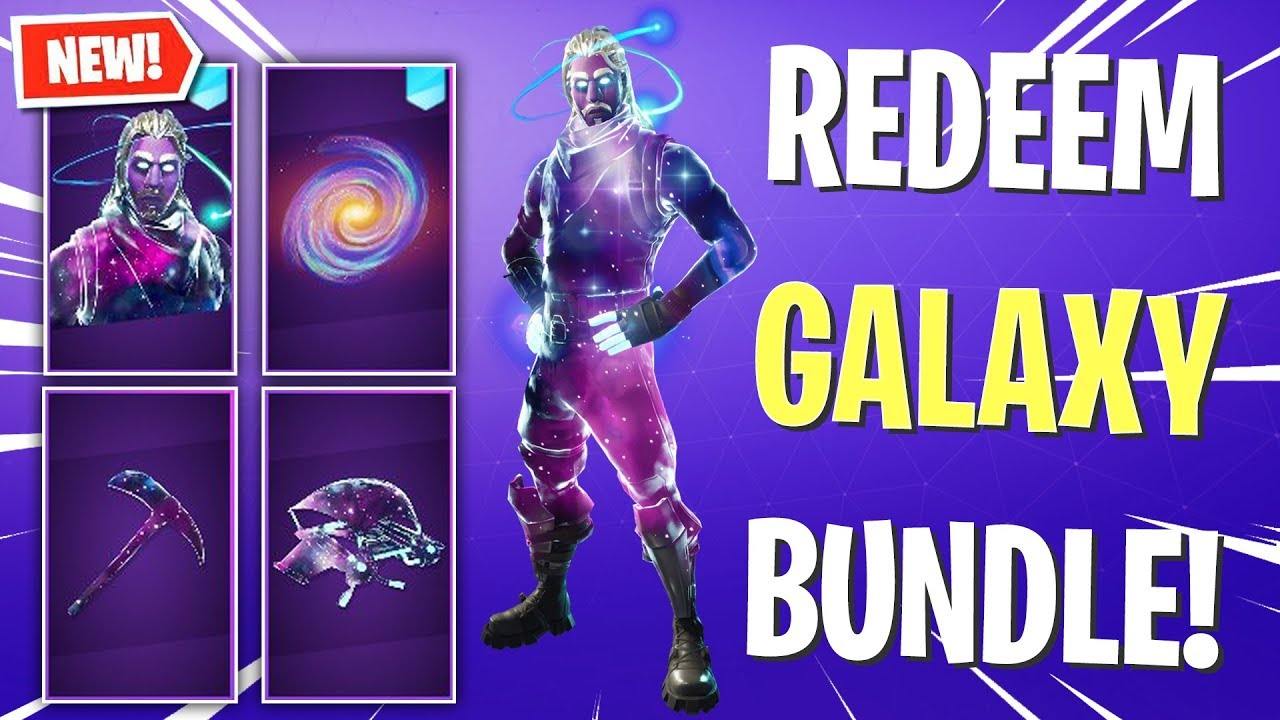 Unlock The Galaxy Skin Bundle Items Fortnite Youtube