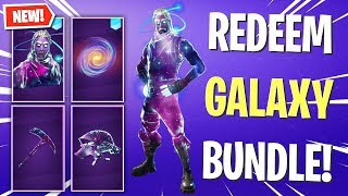 UNLOCK The GALAXY SKIN BUNDLE Items! (Fortnite)