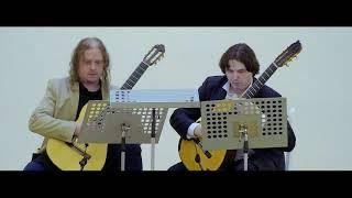 Бетховен-Лунная соната. Классическая гитара.Гапонцев, Изотов (moonlight sonata/classical guitar)