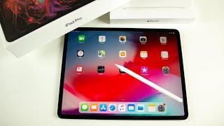 iPad Pro (2018) + Apple Pencil 2 Unboxing, Setup & First Impressions!