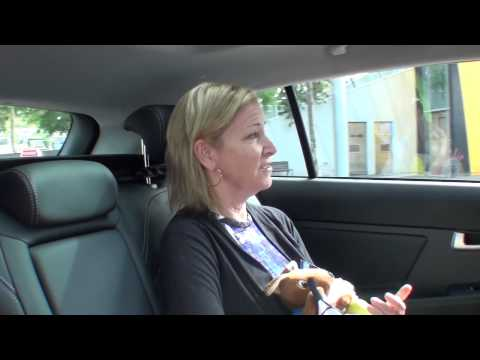 Chris Evert: Kia Open Drive - Australian Open 2015