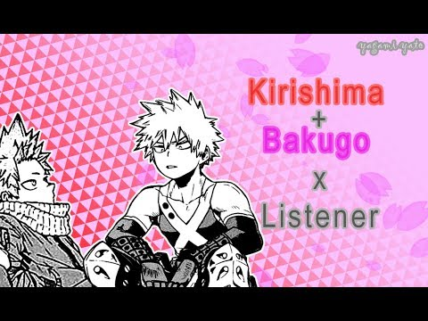 Bakugou Katsuki & Kirishima Eijirou x listener ASMR [My Hero Academia]  Sammich Ver