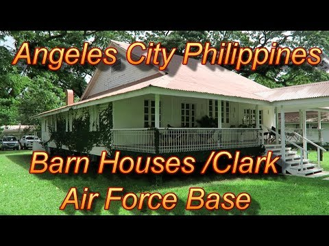 Angeles City Philippines : Barn Houses/Clark Air Force Base