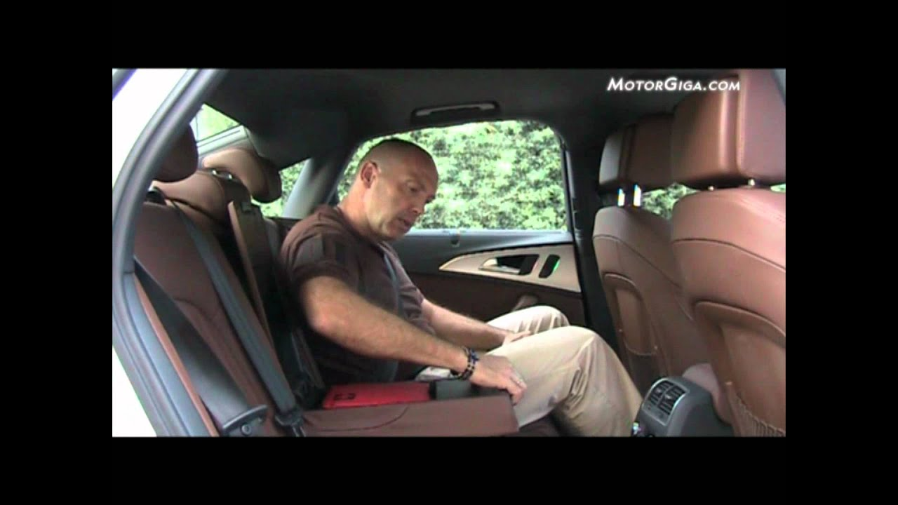Audi A6 An 225 Lisis Asientos Traseros Youtube