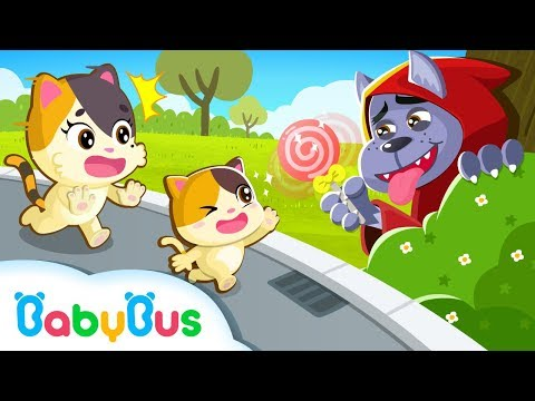 Kitten Mimi, Don't Go with Strangers | Kids Safety Tips | Kids Cartoon | Baby Cartoon | BabyBus