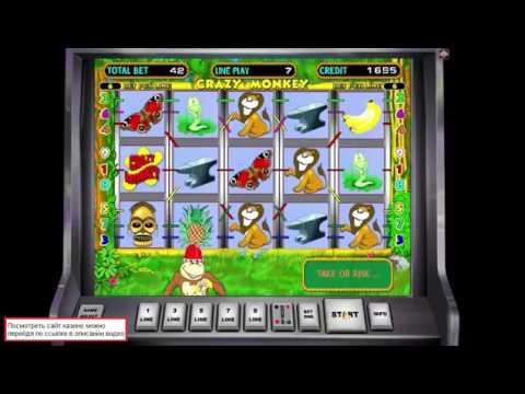 Призовая игра в игровые автоматы Crazy Monkey
