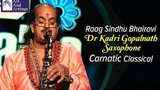 Dr Kadri Gopalnath Saxophone | Carnatic Classical | Instrumental | Idea Jalsa | Art And Artistes