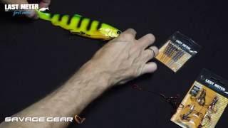 """Kummilantide rakendus """"Savage Gear Carbon49 Stinger"""" video"""