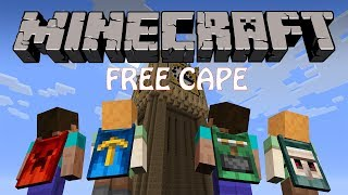 How to get a free cape in Minecraft 2016 | CraftingRecipes
