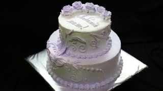 торт на 16 лет сиреневый | торт на заказ