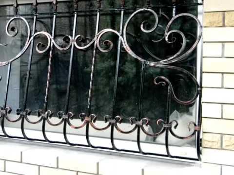 Как покрасить решетку на окне цвет черный с патиной медной под старину