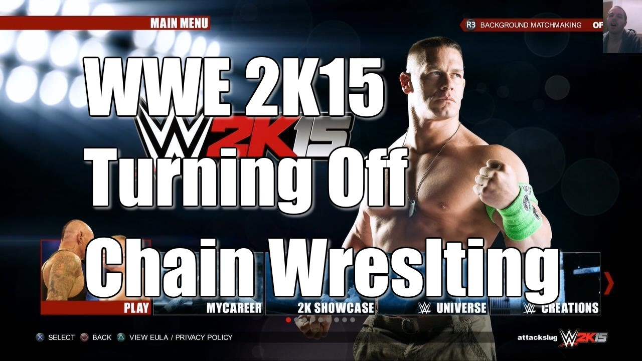 wwe 2k15 how to turn on background matchmaking