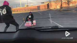 Barbie car tow fail || Viral Video UK