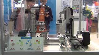 2018.08 台北流體傳動與智能控制展-氣缸組裝機台