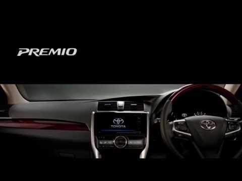 The All New 2016/2017 TOYOTA PREMIO  Interior Luxury In Every Touch