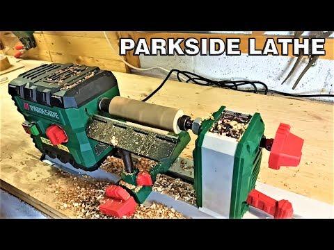 Parkside Wooden Lathe Test