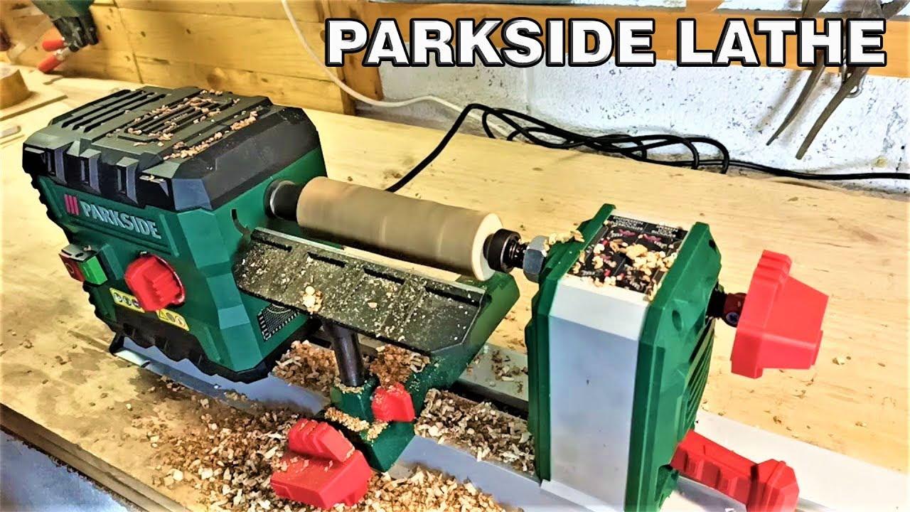 parkside wooden lathe test youtube. Black Bedroom Furniture Sets. Home Design Ideas