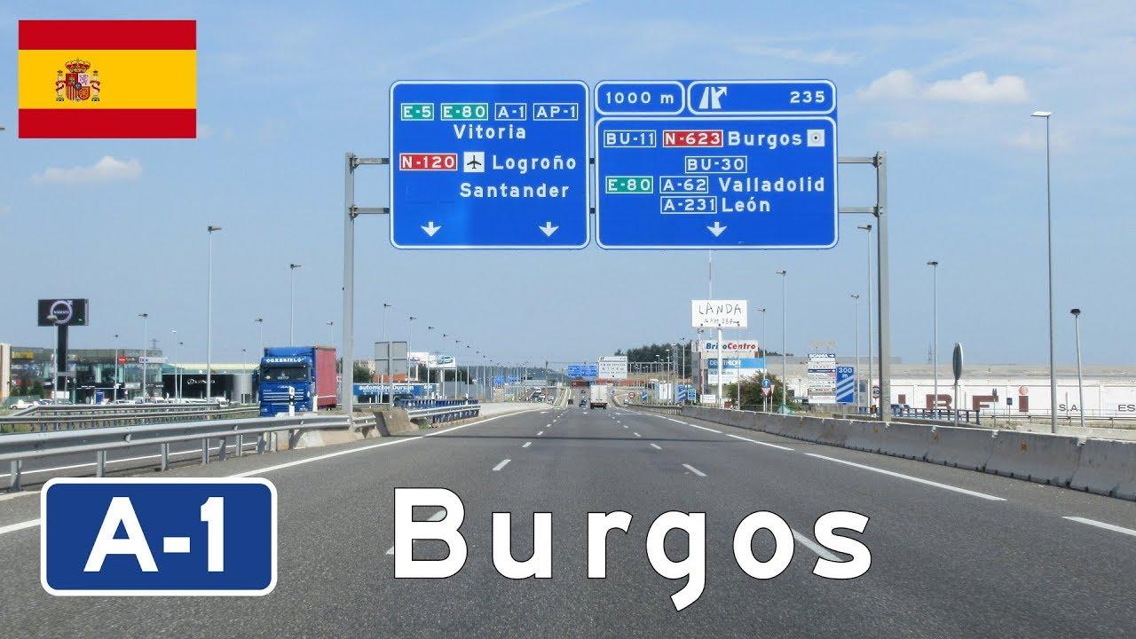 Download Spain: A-1 Burgos