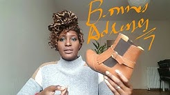 Grands pieds et amoureuse de chaussures
