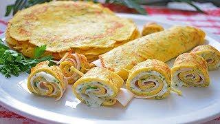 Palačinke od tikvica - Crepes di zucchine | Kuham ja kuhaš ti