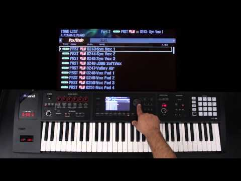 Roland FA-06/08 - Advanced Layers and Splits Part 1