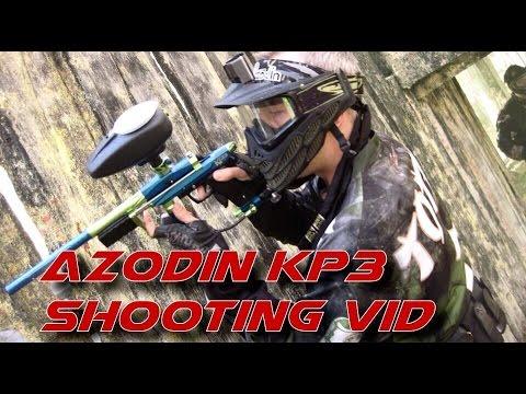 Azodin KP3 Paintball Pump Shooting Video - scenario footage