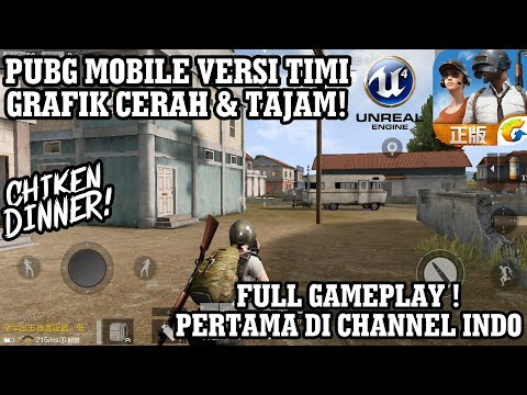 PUBG MOBILE INDONESIA Timi Studio Rilis Open Beta ! FULL GAMEPLAY