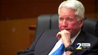 Raw Video: Tex McIver gets emotional on the stand