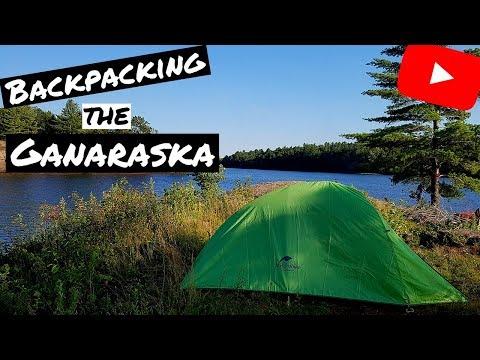 Over Night Backpacking Trip - The Ganaraska Trail - Moore's Falls, Ontario