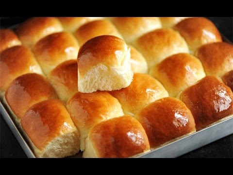 How To Make Soft Sweet Milk Bread 牛奶小麵包 Dinner Rolls Recipe