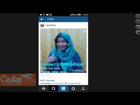 Cara Download Video Instagram Tanpa Software
