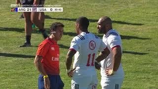 Argentina XV 45 - Estados Unidos 14