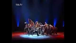 第七届全国舞蹈比赛 群舞 《扯住太阳的脚》中央民族大学