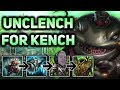 UNCLENCH FOR KENCH! WHY DO I DO THIS MUCH DAMAGE?! FULL TANK TAHM KENCH TOP - Patch 7.12
