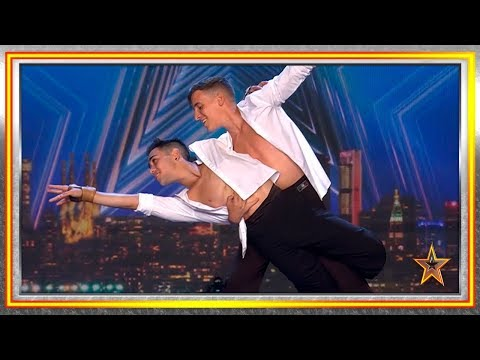 Son NOVIOS, BAILARINES Y EMOCIONAN Al Jurado | Audiciones 8 | Got Talent España 2019