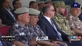 جلالة الملك يتابع تمريناً للدفاع المدني في غمدان - (23-4-2018)