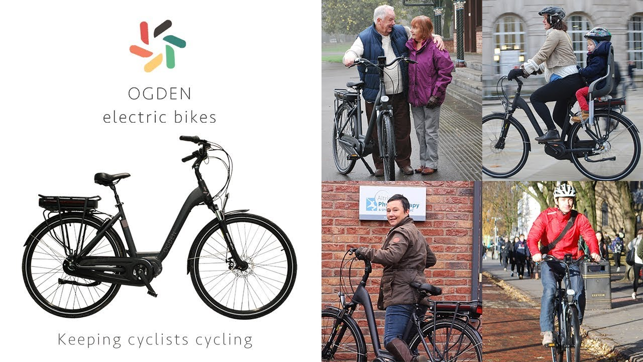 OGDEN - Premium electric bike from Manchester, home of British Cycling