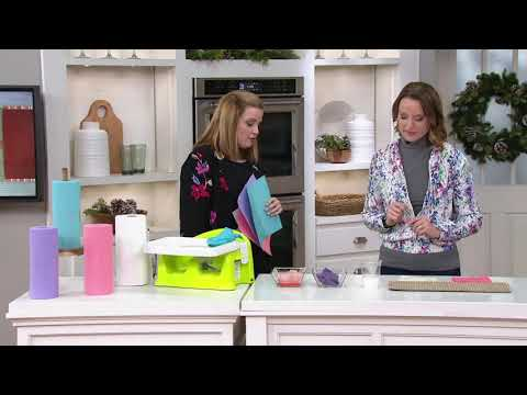 Wowables 30-Count Roll Washable and Reusable Paper Towels on QVC