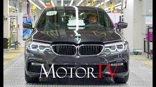 CAR FACTORY : 2019 BMW 5 SERIES PRODUCTION l Plant Dingolfing