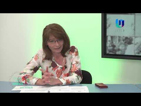 TeleU: Mihaela Cuțui la Drumul spre Sănătate.
