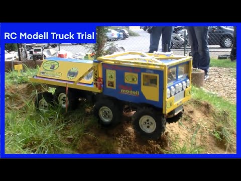 RC Rock 842 Modell Truck Trial 8x8x4