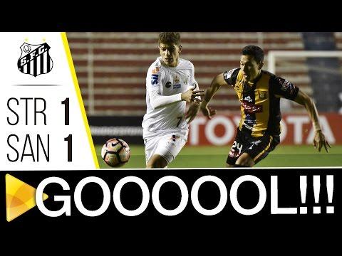 The Strongest 1 x 1 Santos | GOL | CONMEBOL Libertadores Bridgestone (17/05/17)