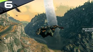 Just Cause 4 - Part 6 - FLYING INTO A TORNADO