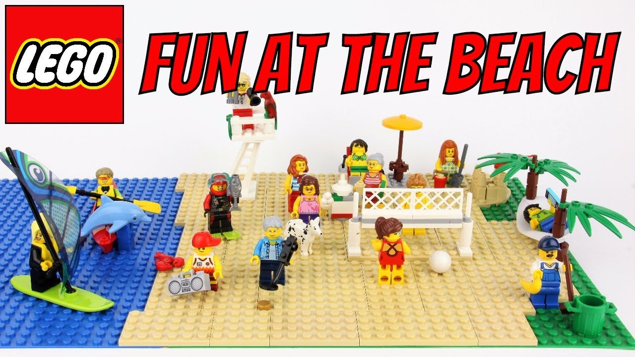 Lego City 60153 Fun at The Beach Set